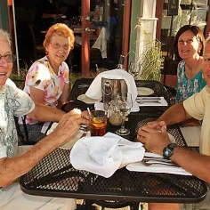 Members of the Rau family of Ocean Grove: Ed, Marie, Karen and Michael were at Sea Grass enjoying a meal Sat., June 15.