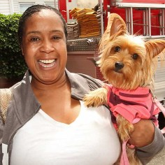Lisa Revels w/Foxy, Asbury Park - She's an original. She does her own thing.