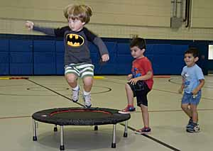 Above photo and featured photo from the Fort Monmouth Recreation Center Facebook page. (Link in story.)