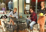 At the Twisted Tree Cafe on Cookman Avenue in Asbury Park Stephanie Zoppi waited on Dana and John Borneo of Tinton Falls.