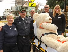 Members of the Ocean Grove First Aid Squad were on hand for the Fall Harvest Festival held in the downtown historic area recently. They are Tina Duda, Mark Liddick, John Conner, Denis McCarthy and Karen Adams.