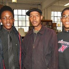 Ralph, Ralph Jr. & Deshon Parkman, Neptune We don't think you should criticize someone who makes money. They should be able to spend it the anyway they want. They worked for it. If people want something, they should get a job, or go to school, something. People should better themselves.