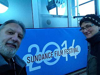 Michael Sodano and Nancy Sabino, owners of The ShowRoom arthouse movie theater have just returned from the Sundance Film Festival where they scout films to bring to Asbury Park in 2014.
