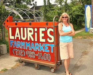 Laurie Price operated  Laurie's Country Farm Market in Neptune for the last seven years. COASTER file photo.