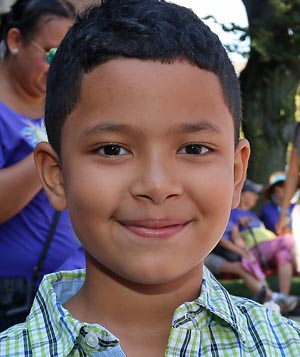 Victor Andrade, Ocean - It was good, I got to play with my friends at recess. I'm in second grade. It's going to be a good year because my teacher is really nice - Mrs. Buck.