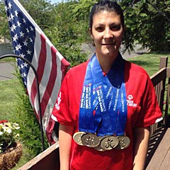 Molly Hebert of Ocean Township has been selected to participate in the 2015 Special Olympics World Games in California in July.