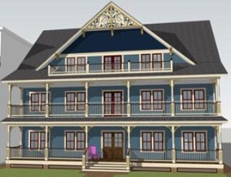 Rendering of Mary's Place new facility in Ocean Grove.