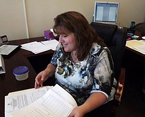 Coaster Photo - Cindy Dye, Asbury Park's new city clerk, started her job this week.