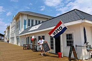 Coaster Photo - The Dunes Boardwalk Cafe opens this week at the north end of the Ocean Grove boardwalk.