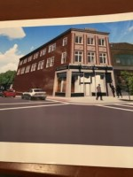 This is a rendering of the proposed facade to 700 Cookman Ave.,  Asbury Park where the Upstage Club was located.