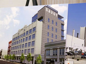This is a rendering of a proposed renovation at 714 Mattison Ave., Asbury Park where the Savoy movie theater once operated.