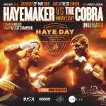 Plakat zum Fight 30 Arnold 'The Cobra' Gjergjaj vs David Haye in der O2-Arena in London