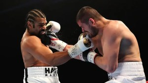 SKY Sports: David Haye stops Arnold Gjergjaj in second round at The O2