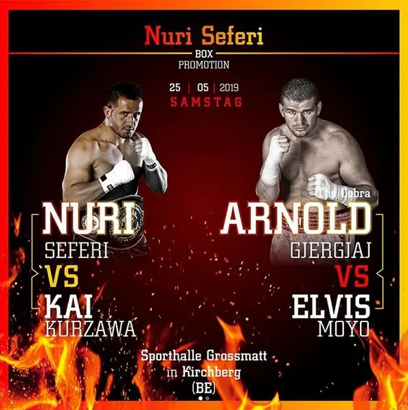 Fight #36 2019-05-25 vs Elvis Moyo