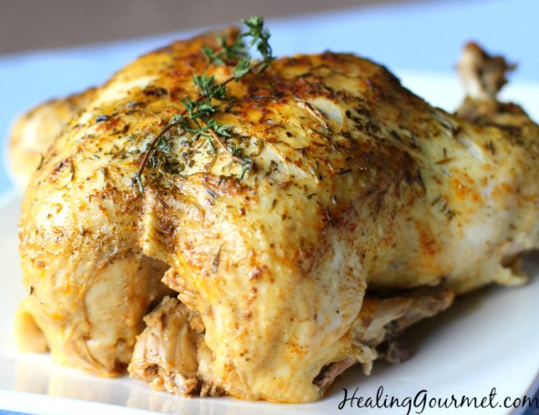 Fall off the bone pressure cooker chicken