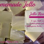 Simple Homemade Jello from The Coconut Mama