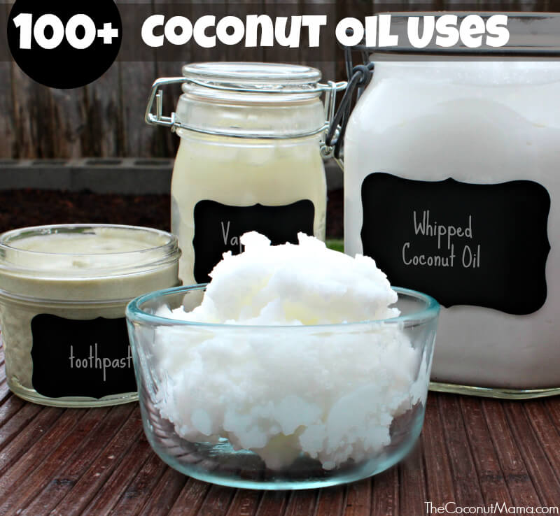 100+ Coconut Oil Uses