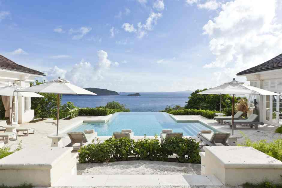 Les Jolies Eaux, a villa on Mustique, in The Grenadines