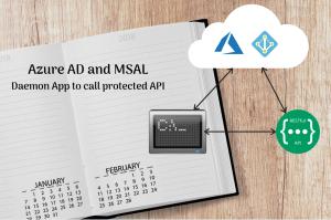 Daemon App that calls Web API – Azure AD using MSAL