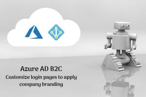 Login page customization options in Azure AD B2C