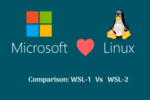 Read more about the article Understanding differences between WSL 1 and WSL 2