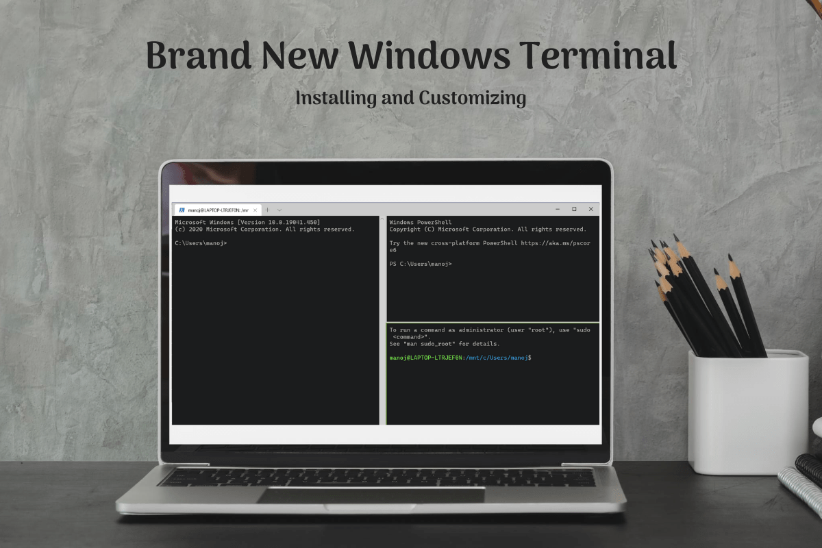 Read more about the article Installing the brand new Windows Terminal