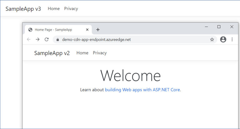 Azure CDN: Showing older cached version of site
