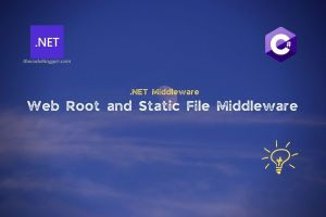 Static Files Middleware In ASP .NET Core Applications