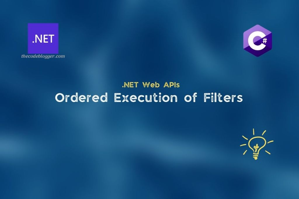 .NET Core Web API - Ordered Filters