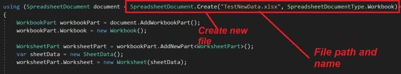 Read/Write Excel file in  NET Core 2 0 | TheCodeBuzz