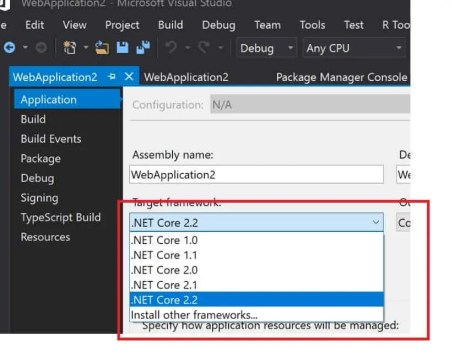 Resolved:  NET Core 2 2 2 SDK not available in Visual Studio