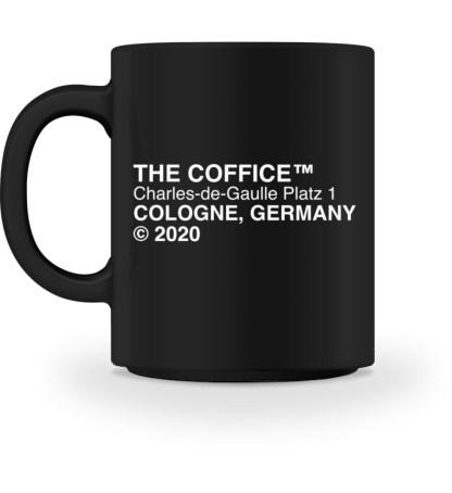Coffice Cup schwarz - Tasse-16
