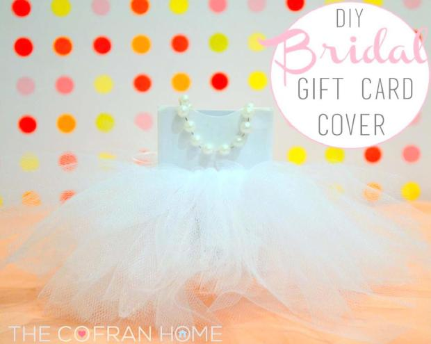 Bridal Gift Card Cover - The Cofran Home