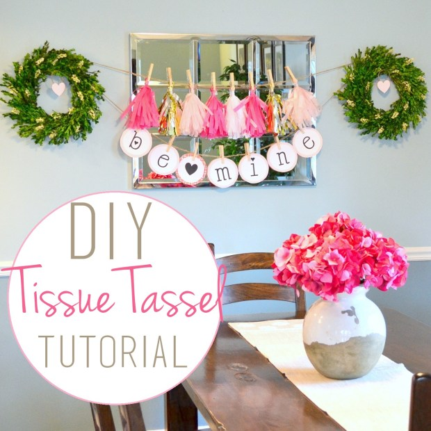 DIY Tissue Tassel Tutorial