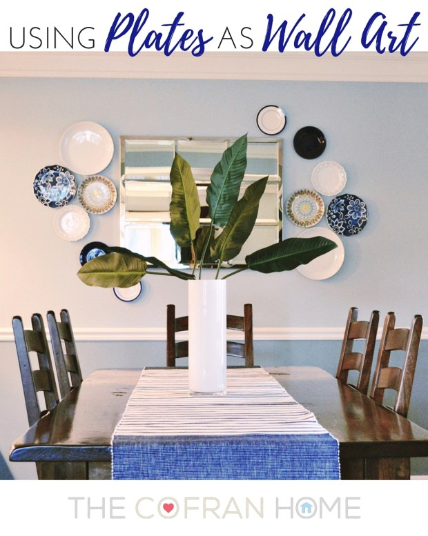 Using Plates as Wall Decor