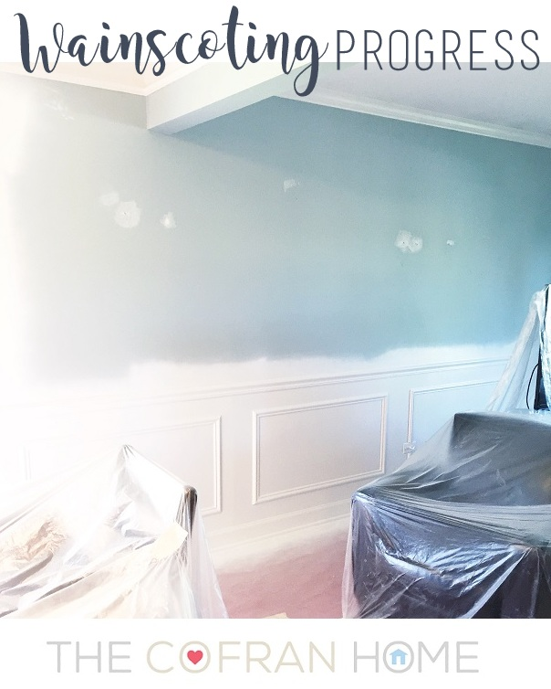 Wainscoting Progress