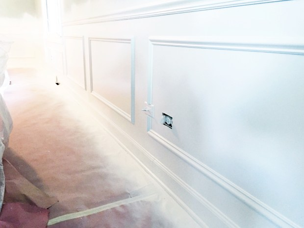 Wainscoting closeup