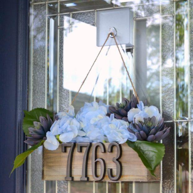 Address Door Hanger