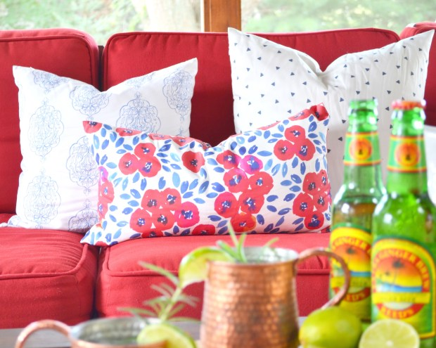 Pillows in porch