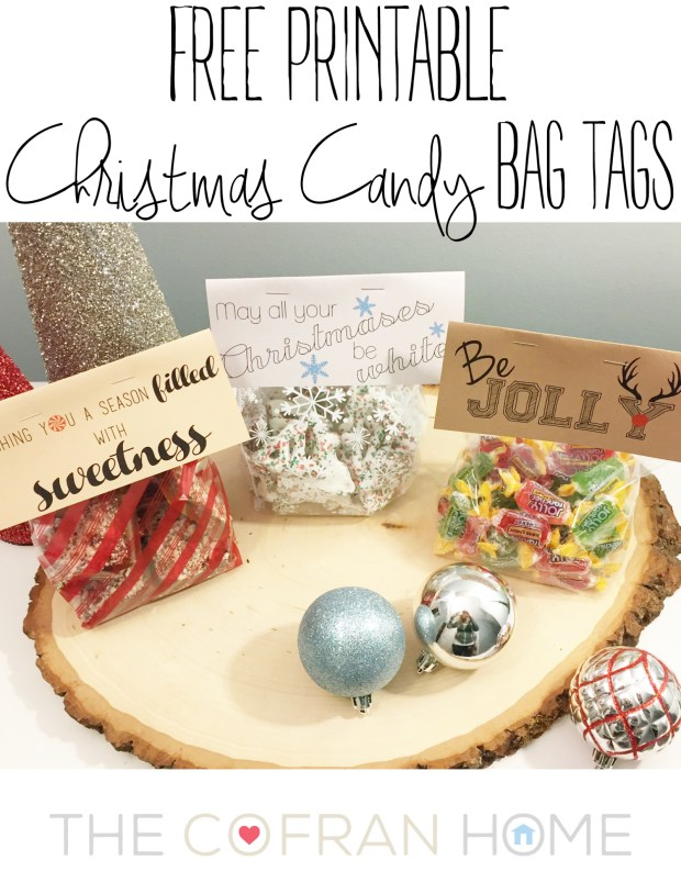 Christmas Candy Tags