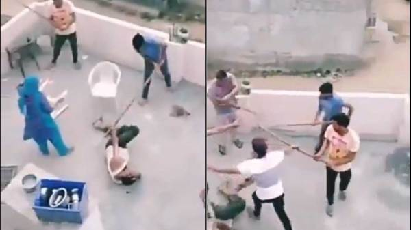 Muslim Family Attacked In Gurgaon