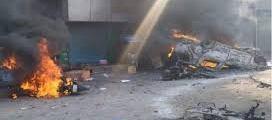 Gokalpuri Tyre Market Set On Fire