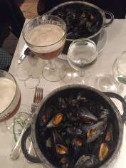 Mussels in Brussels is also a foodie necessity