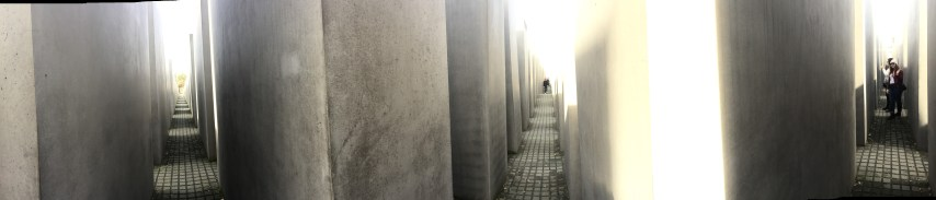 Inside the Memorial for Murdered Jews in Europe