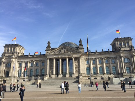 Fun Fact: The glass dome on top of the Reichstag Building symbolizes the transparency that Germany strives to achieve in their government today.