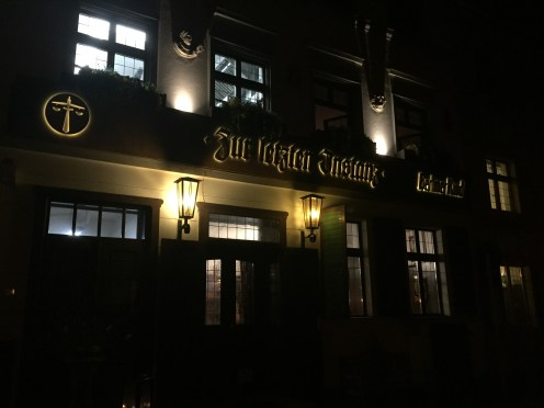 Where we ate dinner on Saturday night which happens to be the oldest restaurant in Berlin! It's been around since 1621!