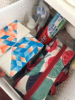 Supplies - soaps, toothpaste, toothbrushes etc