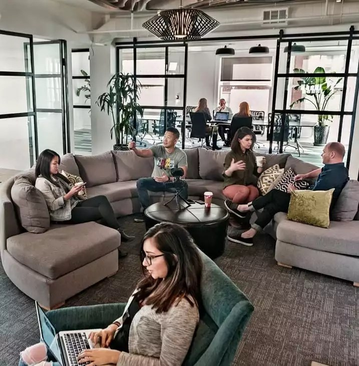 People Utilizing Shared Workspace and Office Space - The Collection