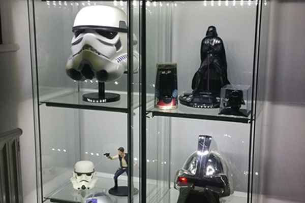 the collection corner