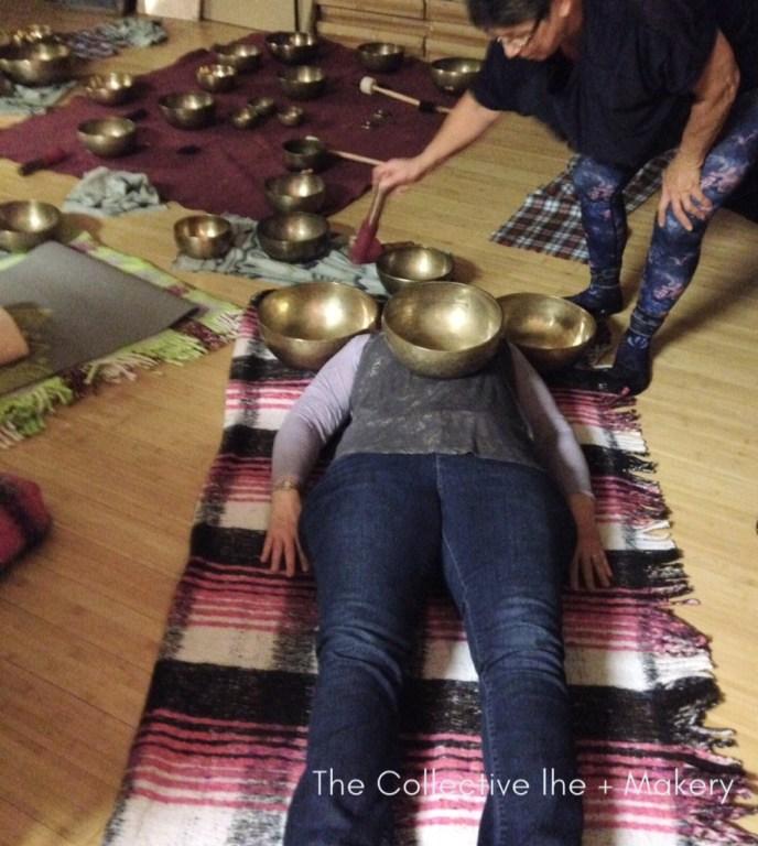 Meditation with Tibetian Bowls